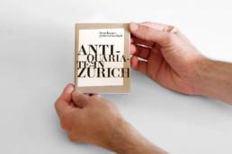 Editorial Design Antiquariatsführer für die Froschauer Genossenschaft