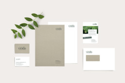 Corporate Design Briefschaft Viridis GmbH