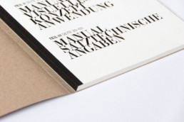 Editorial Design Manual Inhaltsverzeichnis