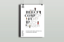 Plakat Design Kulturcasino Bern Mnozil Brass