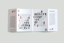 Editorial Design Programmheft deutsch und französisch Mnozil Brass