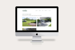 Corporate Design Webdesign Viridis GmbH