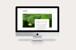 Corporate Design Webdesign Viridis GmbH