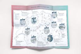 Illustrierte Karten der Ausflugstipps