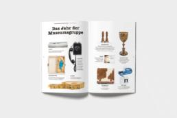 Magazin Schweizerisches Landesmuseum Inhaltsseiten