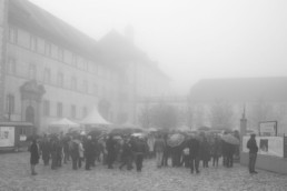 Geschichten Gesichter Vernissage Ausstellung bei Nebel