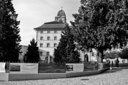 Ausstellungsdesign im Abteihof Kloster Einsiedeln