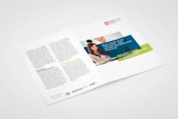 Flyer zum Start in die Treuhand- und Immobilienbranche