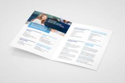 Flyer für wichtige Informationen rund um die Lehre