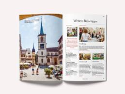 Reiseführer Editorial Design