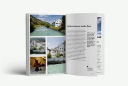 Kultur Guide Engadin Editorial Design